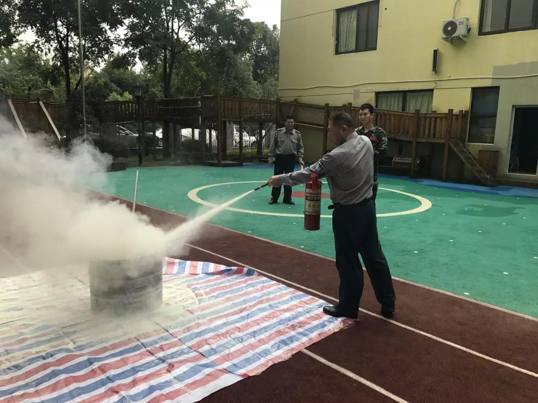 温州市第十六幼儿园 活动剪影 温十六幼:白鹭园区消防